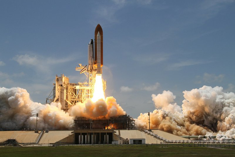 software pre-sale launch like a spaceship